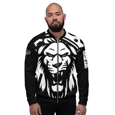 The KING Black Bomber Jacket