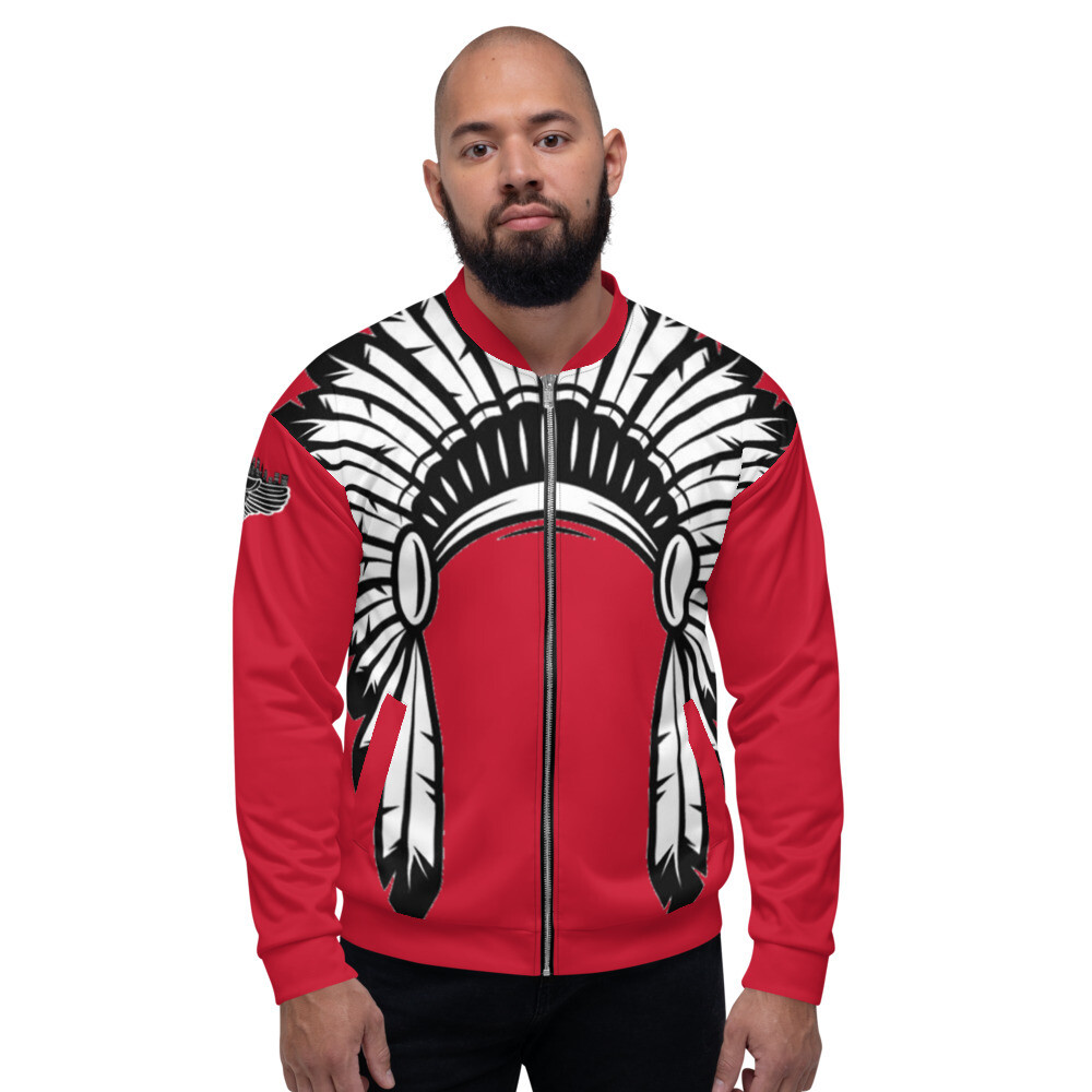 High Chief Red Bomber Jacket