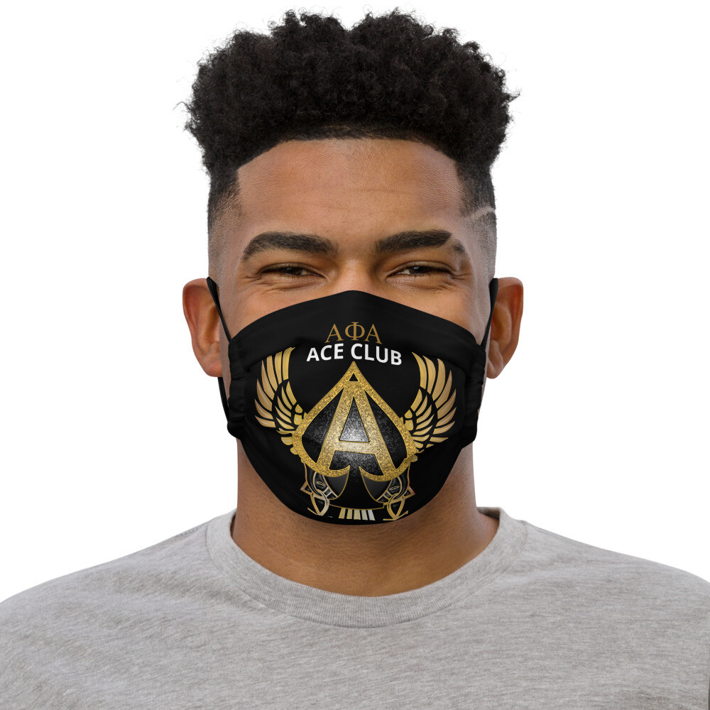 The ACE CLUB Mask Blk