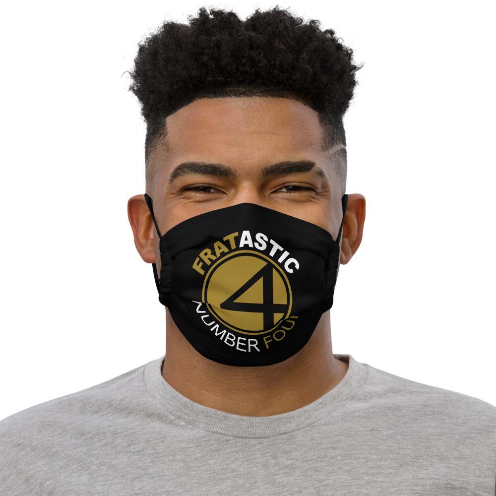 Fratastic Number Four Mask Blk