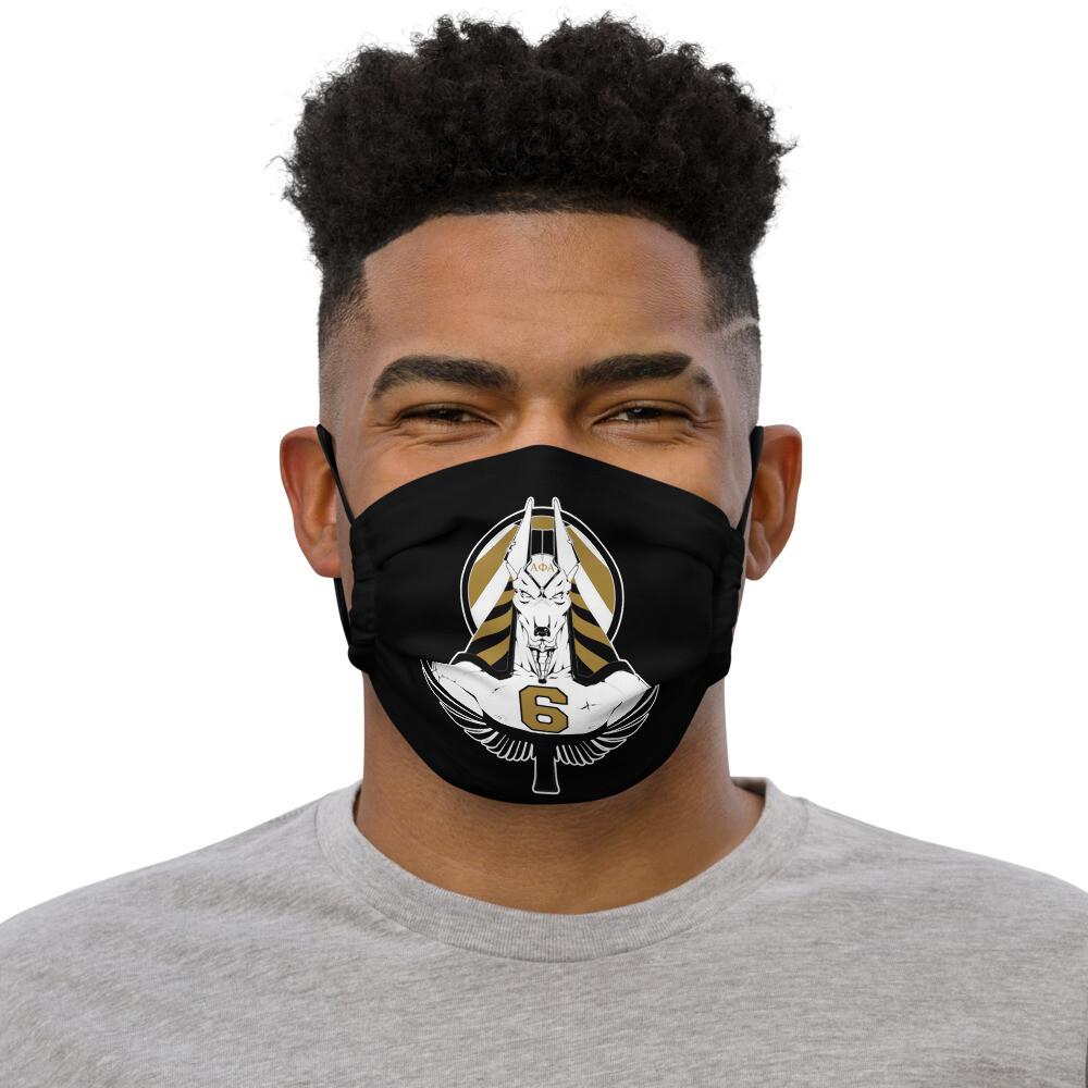 6th Guard of Anubis Mask Blk