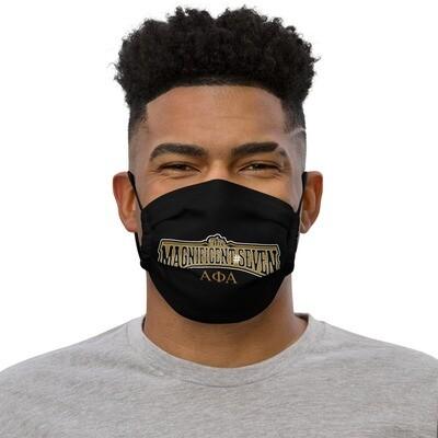 Magnificent Number Seven Mask Blk