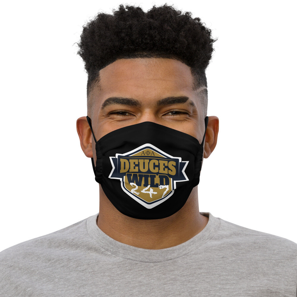 Deuces Wild 247 Mask Blk