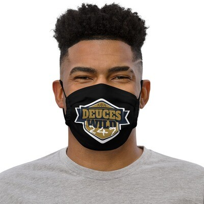 Deuces Wild 247 Mask Blk