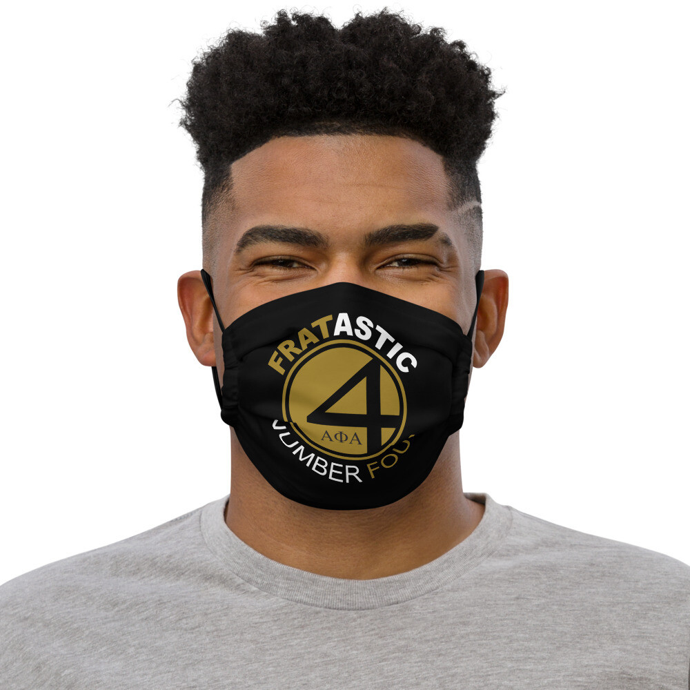 Fratastic Number Four Mask Blk