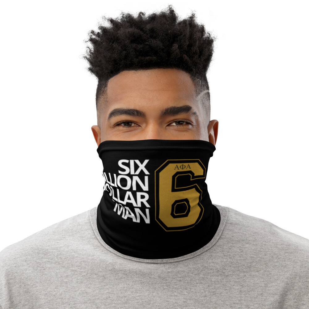 6M Dollar Man Scarf Cover Blk