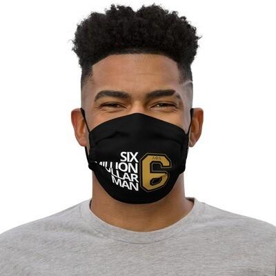 6M Dollar Man Mask Blk