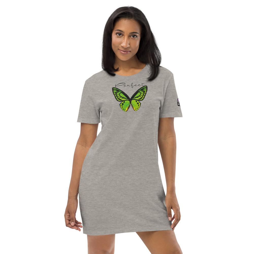 Perfect Butterfly T Smoke Dress