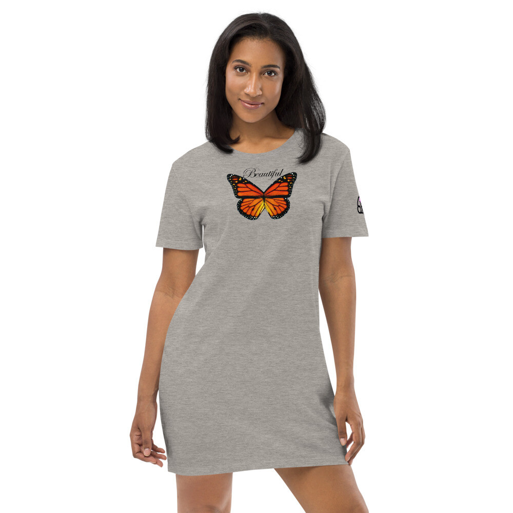 Beautiful Butterfly T Smoke Dress