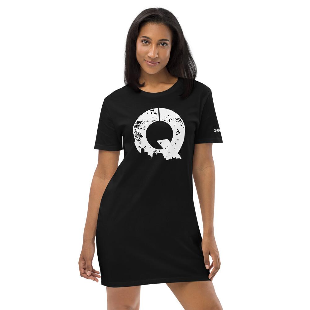Queendom T Black Dress