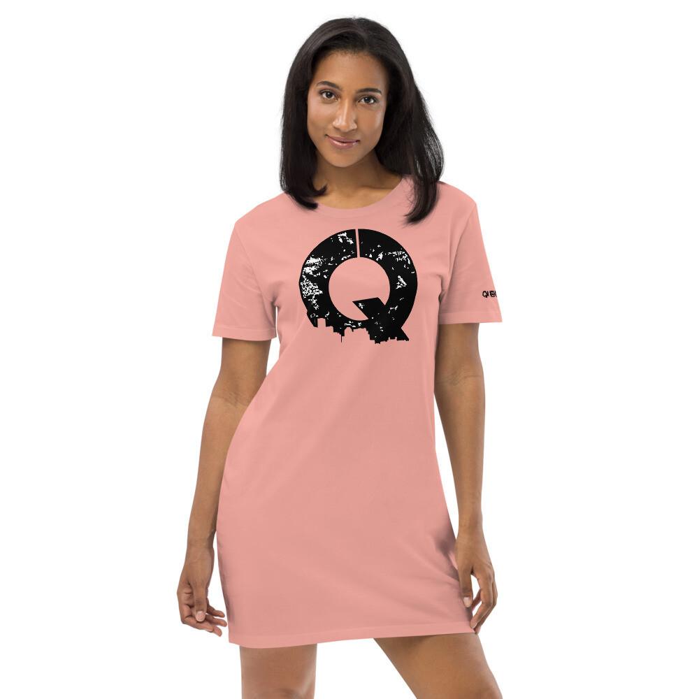 Queendom T Salmon Dress