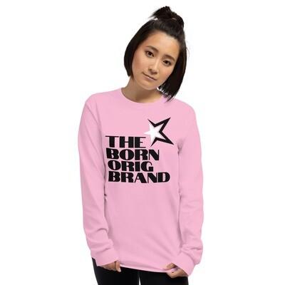 Born Original Brand Women's LS Shirt Pink