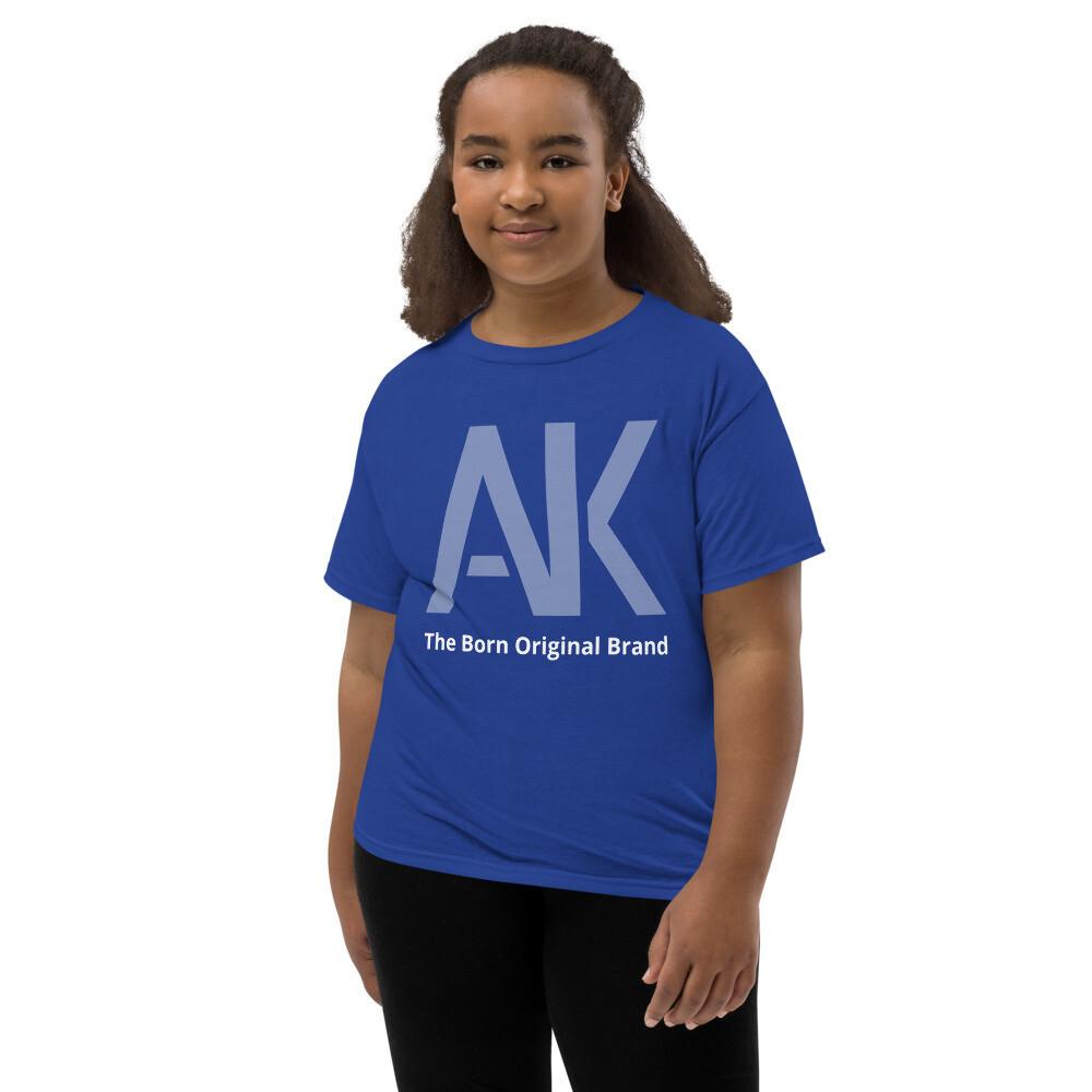 AK Girls Purple T-Shirt