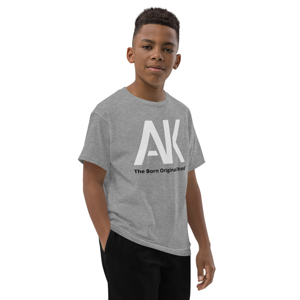AK Boys Grey T-Shirt
