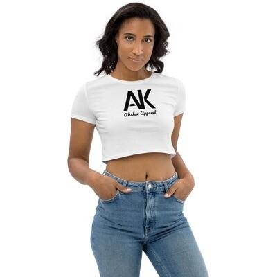 AK White Crop Top