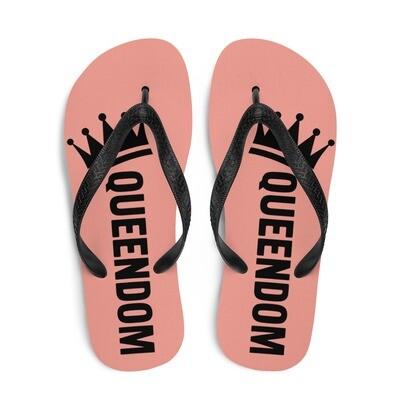 Queendom Salmon Flip-Flops