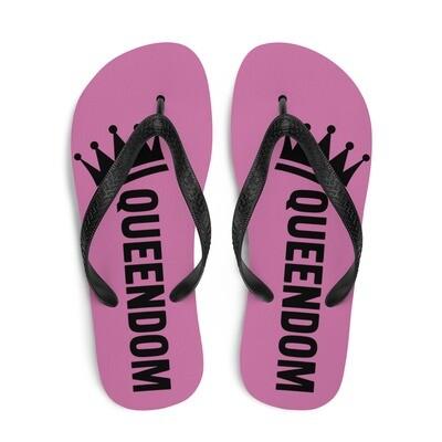 Queendom Mauve Flip-Flops