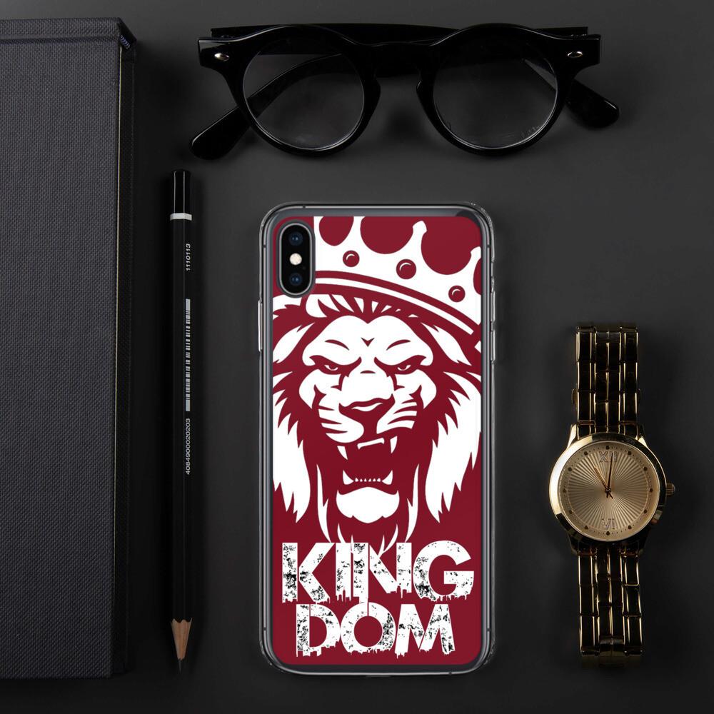 Kingdom Lion Blood  iPhone Case