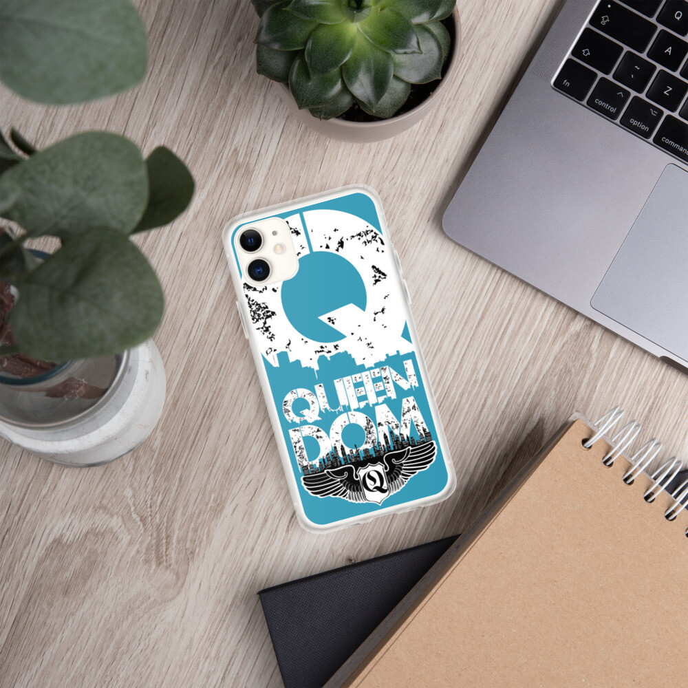 Queendom Blue iPhone Case