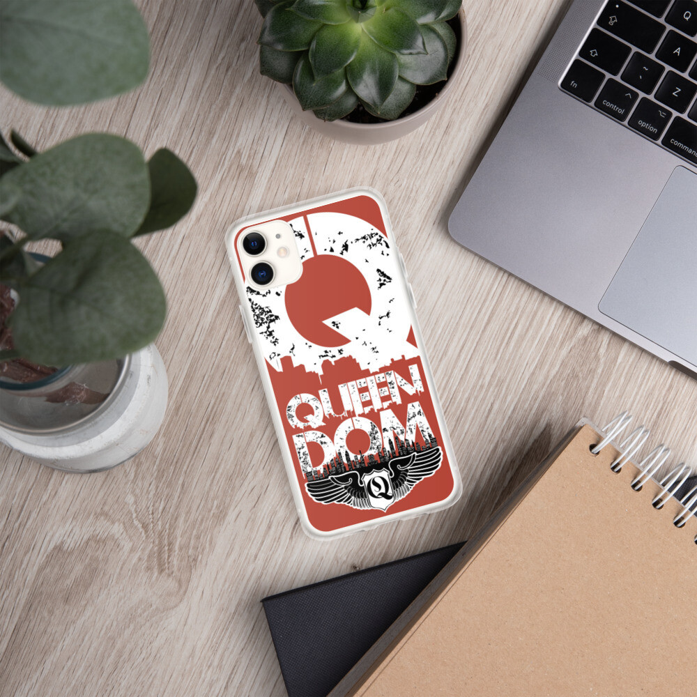 Queendom Carmine iPhone Case