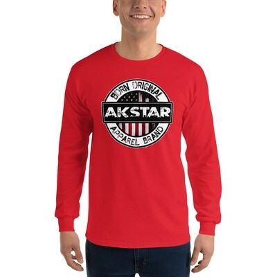 BOAB Official Red Men's LS Shirt
