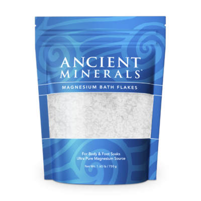 ​Ancient Minerals Magnesium Bath Flakes-1.65 lb / 750 g