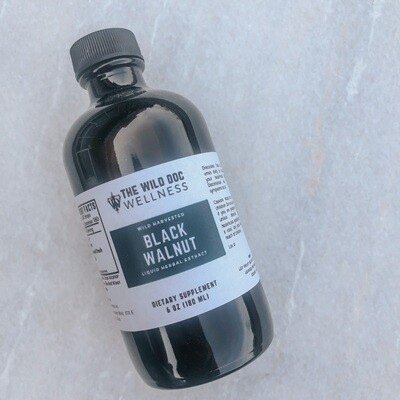 Black Walnut Extract, 6 oz.