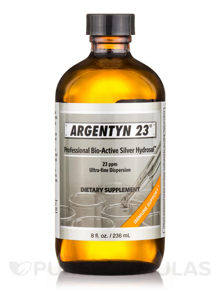 Argentyn 23 Professional Bio-Active Silver, 8 oz.