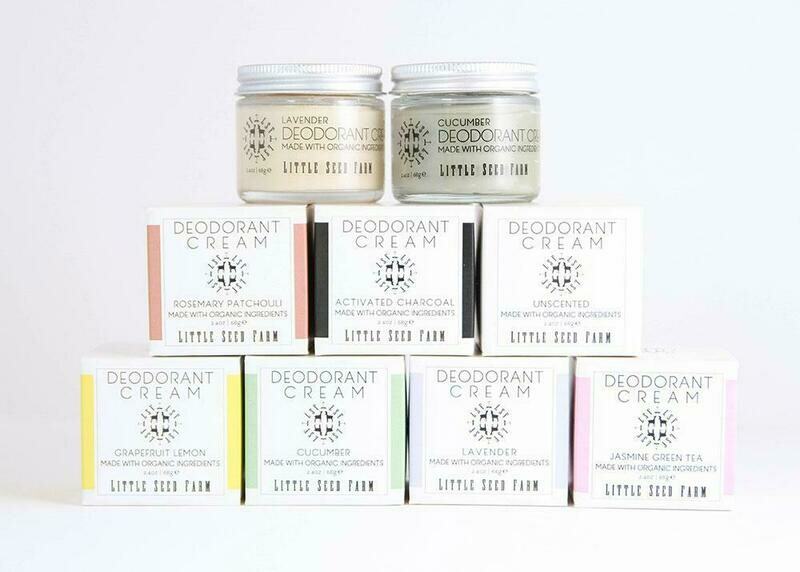 Deodorant Creams - Little Seed Farm