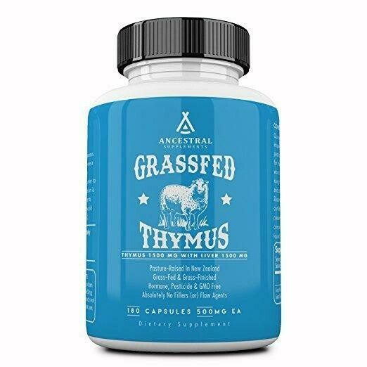 Grassfed Thymus - Ancestral Supplements