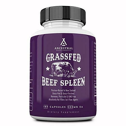 Grassfed Beef Spleen - Ancestral Supplements