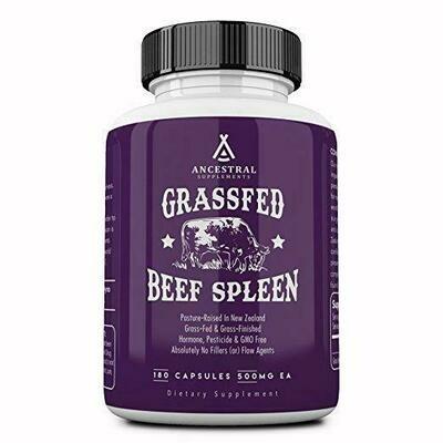 Grassfed Beef Spleen - Ancestral Supplements