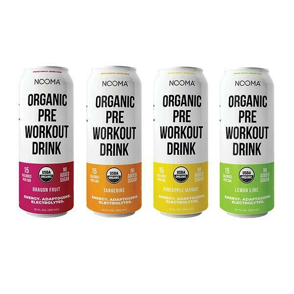 Nooma Organic Pre-workout Drink