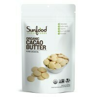 Sunfood- Cacao Butter, 1lb, Organic