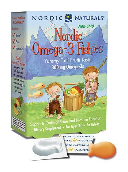 Nordic Naturals Nordic Omega-3 Fishies