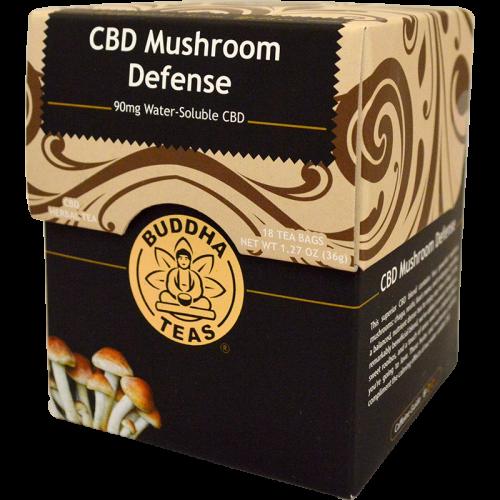 CBD Mushroom Defense Tea-Buddha Teas