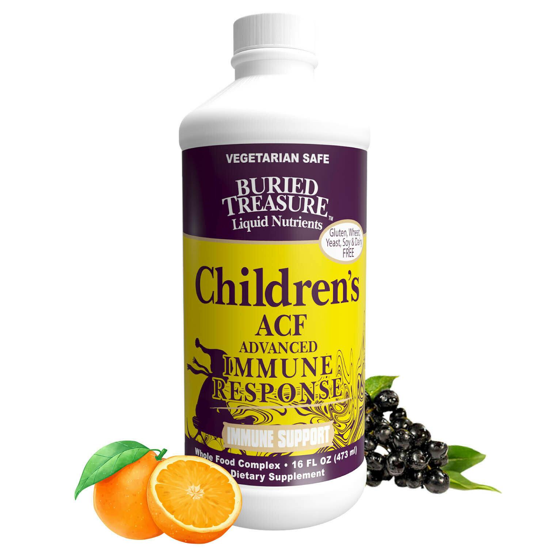 Children's ACF Advanced Immune Response 16 fl oz- Buried Treasure