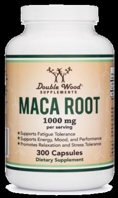 Maca Root- Double Wood Supplements 300 Caps