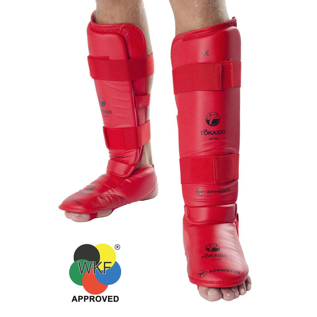 TOKAIDO Shin & Foot Protectors (WKF Approved)