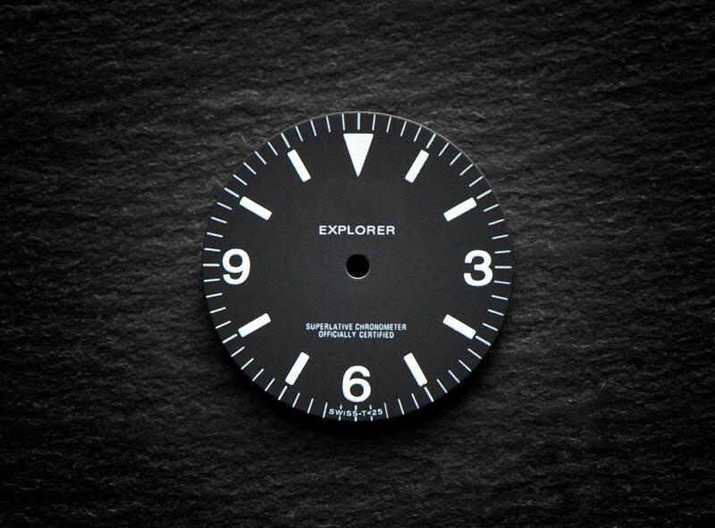 1016 dial wht lume for ETA