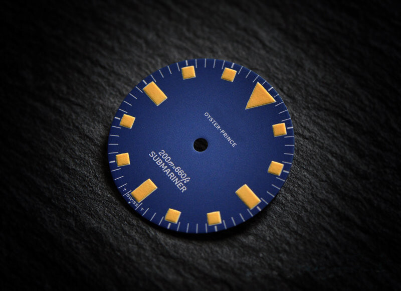 T Sub 9401/0 blue yellow lume dial