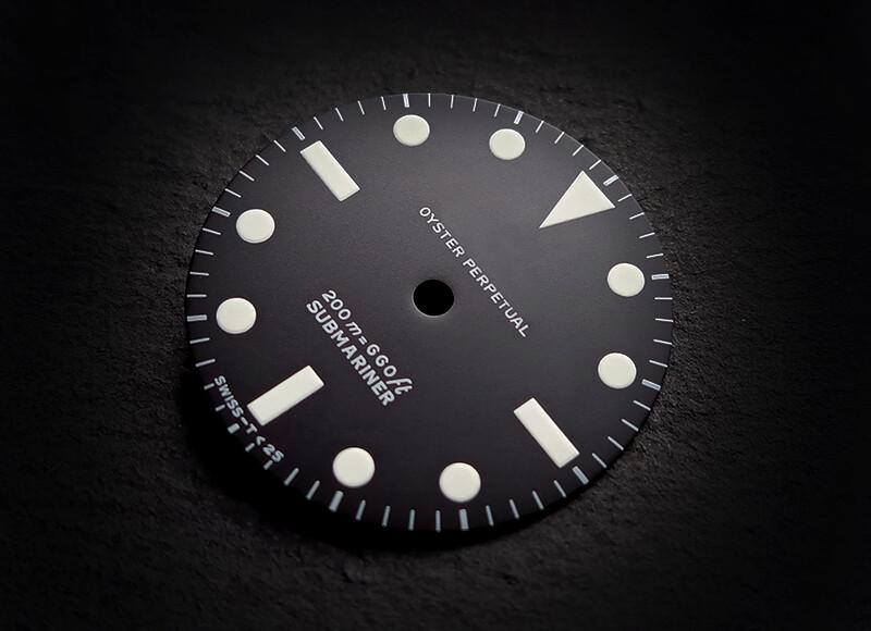 Sub 5513 white lume 200m first Matt dial
