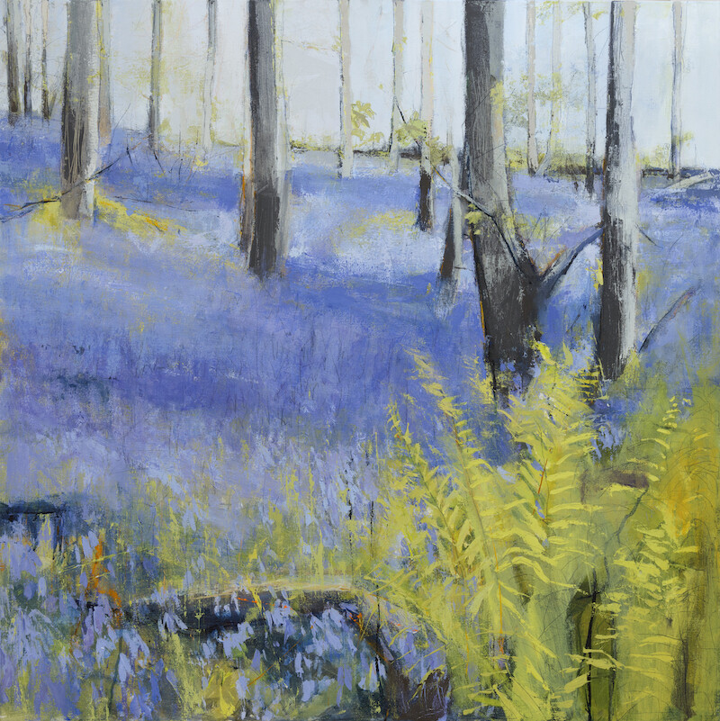Bluebell Walk Reproduction Print