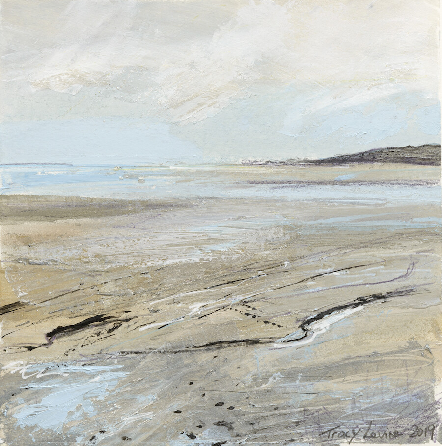 Watching The Tide, Cove 3. Reproduction print