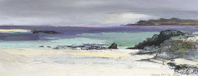 Iona Light. Reproduction print.