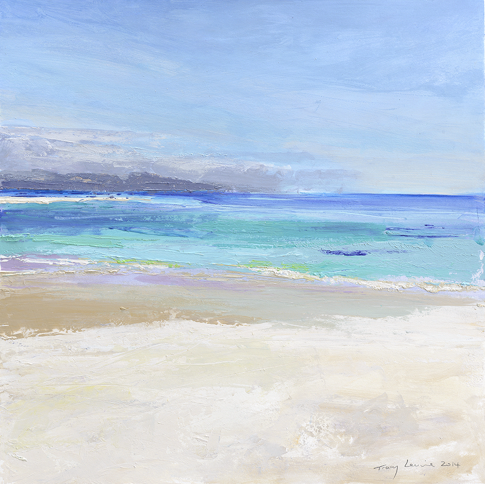 Iona Sands. Reproduction print.