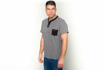 Manor Stripes Casual Dvobojna majica