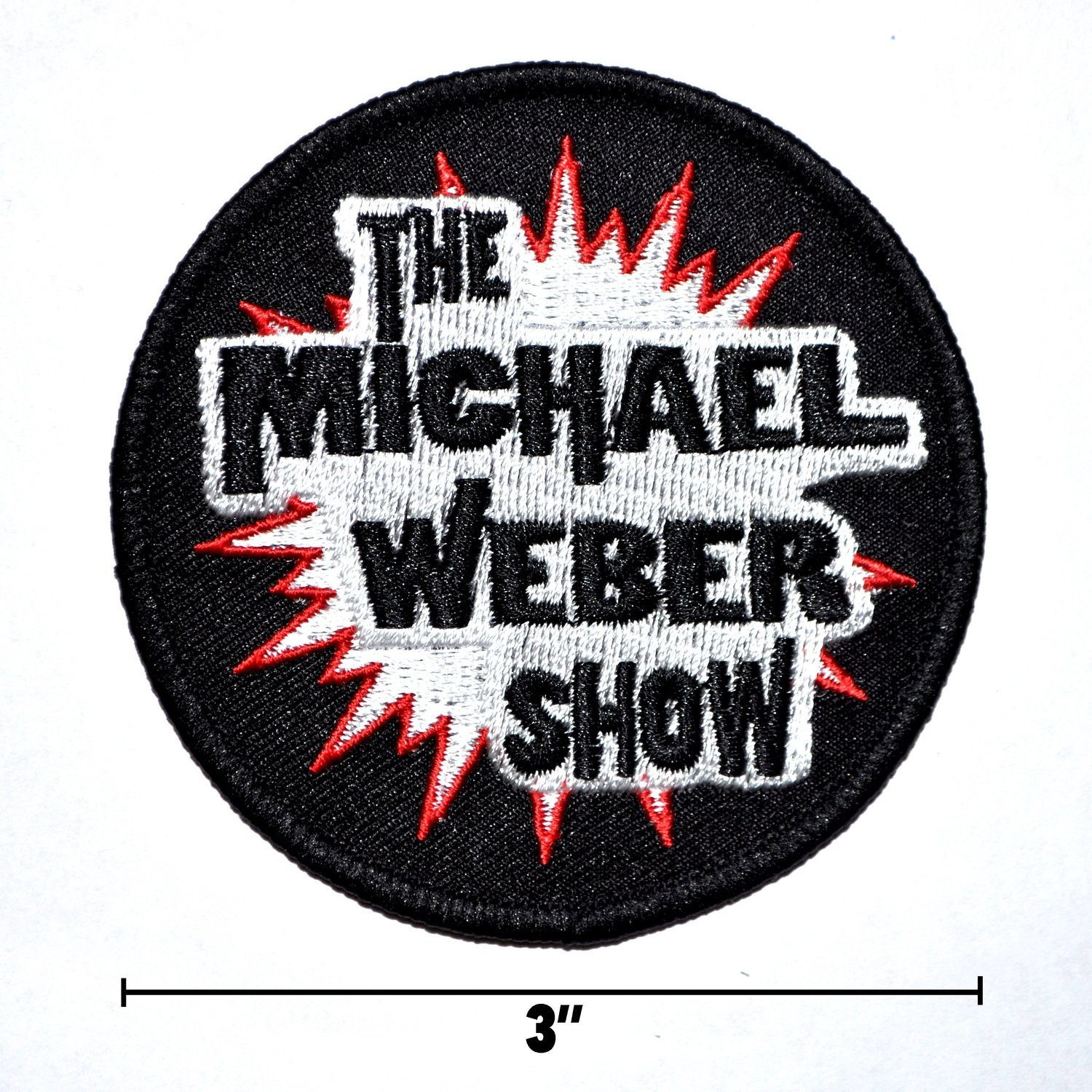 3'' Embroidered Patch