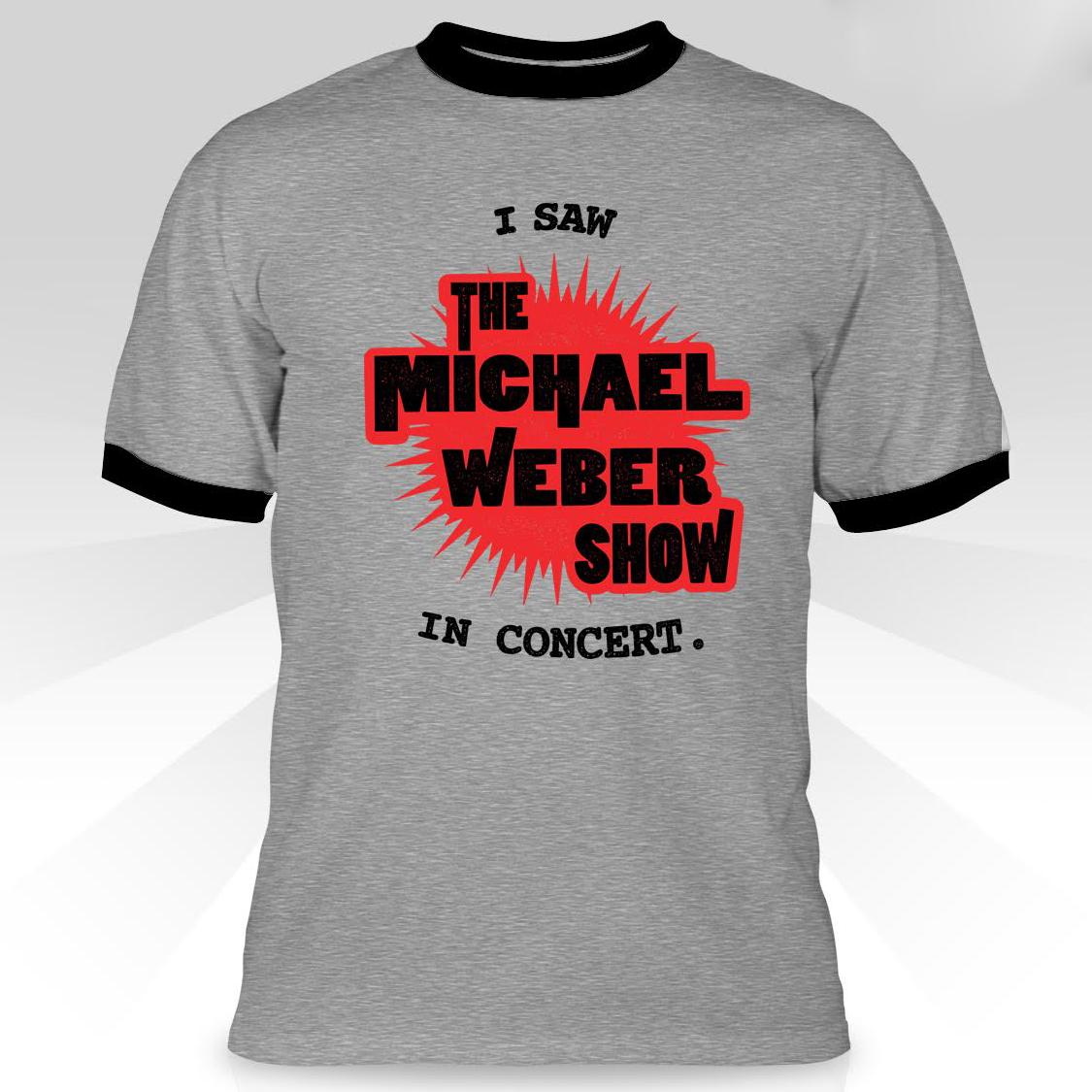 T-Shirt (Grey/Black Ringer)