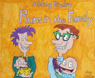 Rugrats: Sibling Rivalry Runs in the Family